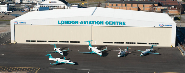 London Aviation Centre is the base of our operations and our dedicated maintenance facility and hangar